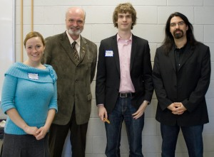 Amanda, Stephen, Graham, and Michael at Web 2.You