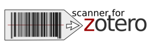Logo for the Scanner for Zotero app